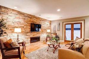 简约风格客厅电视背景墙装修效果图大全赏析