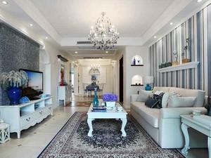 85平米地中海风格时尚两室两厅室内装修案例