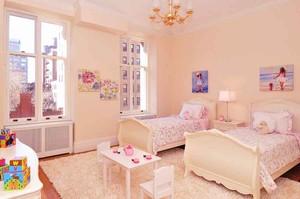 简欧风格大户型室内儿童房装修效果图赏析