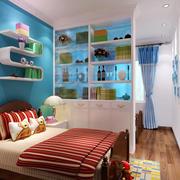 地中海风格三居室儿童房装修效果图鉴赏