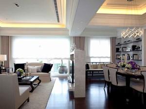 93平米简欧风格两室两厅室内装修效果图