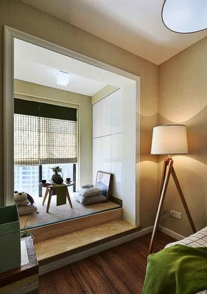 日式简约风格卧室榻榻米装修效果图赏析