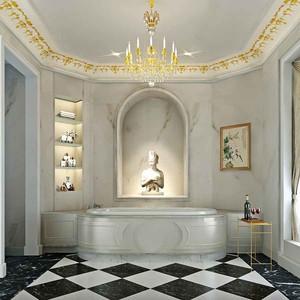 欧式风格别墅豪华卫生间装修效果图鉴赏
