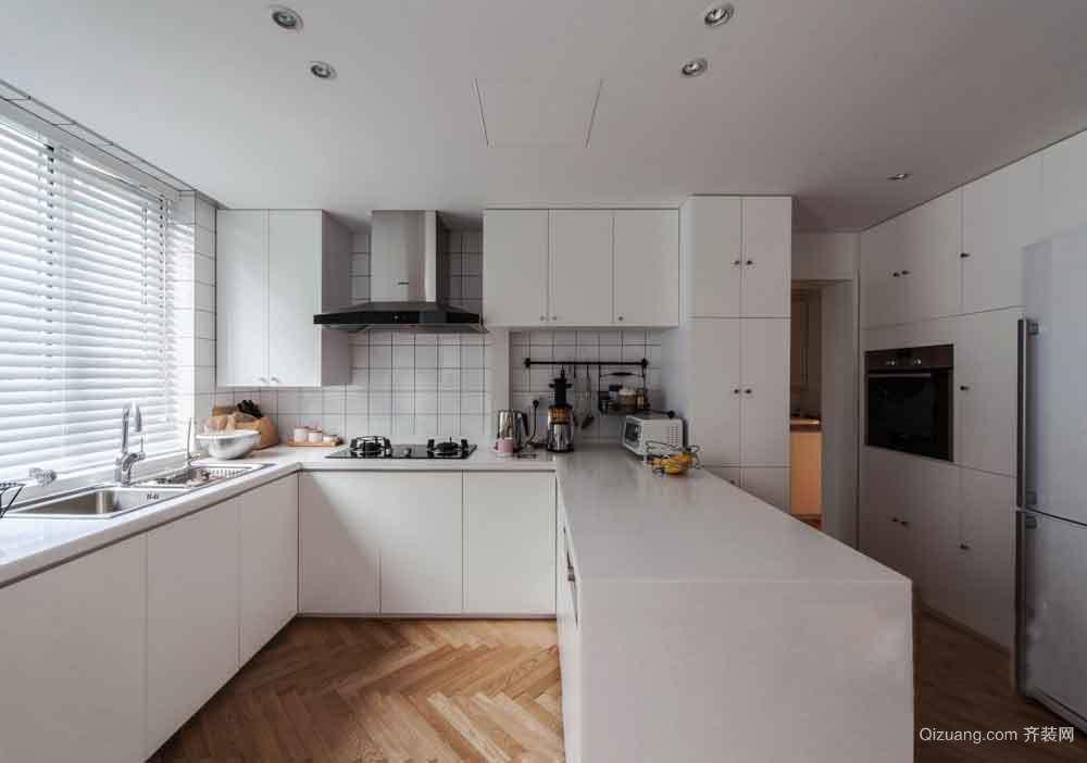 72平米现代简约风格两室一厅室内装修效果图
