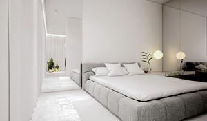 现代简约风格单身公寓室内装修效果图鉴赏
