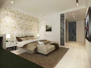 87平米现代简约风格精装两室两厅室内效果图案例