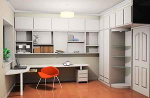 现代简约风格两居室书房设计装修效果图