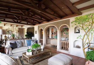 美式乡村风格小别墅室内装修效果图赏析