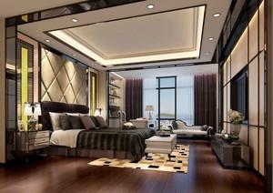 219平米新古典主义风格别墅室内装修效果图案例