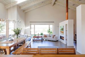 现代简约风格两室两厅一卫室内装修效果图赏析
