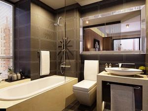 现代风格两室两厅一厨一卫室内装修效果图