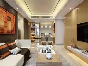 120平米现代风格精装修室内设计效果图鉴赏