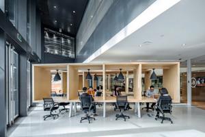 310平米现代简约风格办公室装修效果图赏析