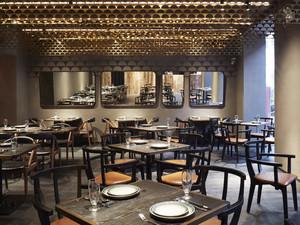 210平米现代风格餐厅装修效果图鉴赏