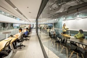 280平米现代风格办公室装修效果图赏析