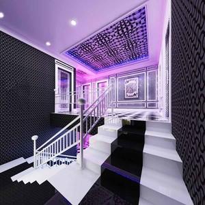 200平米现代风格KTV楼梯装修效果图