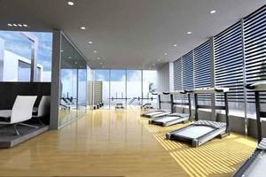 120平米现代风格健身房装修效果图赏析