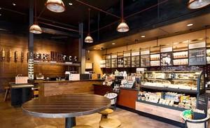 90平米后现代风格咖啡厅设计装修效果图