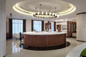 144平米现代风格室内吧台装修效果图赏析