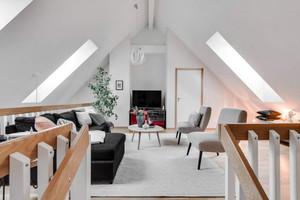 唯美北欧风格复式楼室内装修效果图赏析
