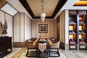 100平米东南亚风格餐厅装修设计效果图鉴赏