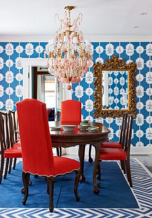 地中海风格小户型餐厅吊灯装修效果图鉴赏