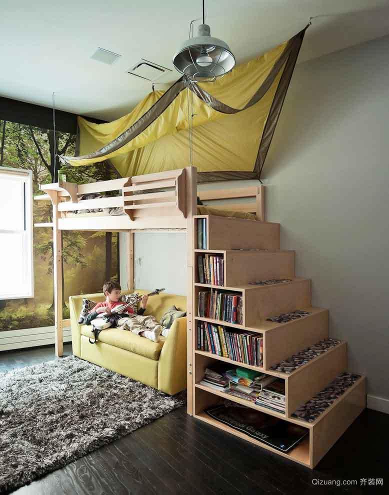 宜家风格时尚创意儿童房装修效果图