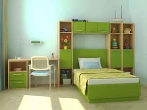 现代简约风格自然舒适儿童房装修效果图