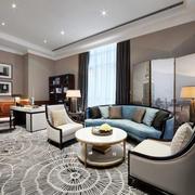 现代风格二居室客厅装修效果图赏析