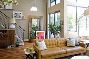 139平米现代美式风格复式楼室内装修效果图赏析