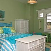 欧式风格清新色彩儿童房装修效果图
