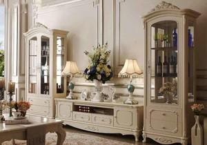 欧式风格大户型家装酒柜装修效果图