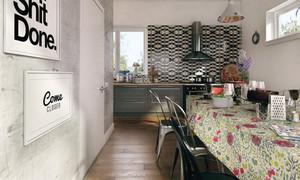70平米北欧风格小户型室内装修效果图鉴赏