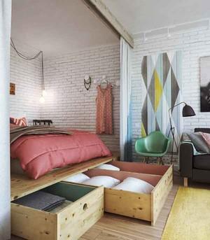 北欧风格轻松舒适卧室装修效果图赏析