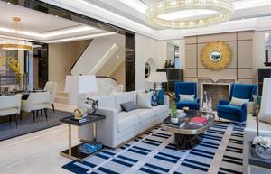 精致典雅现代风格别墅室内装修效果图赏析