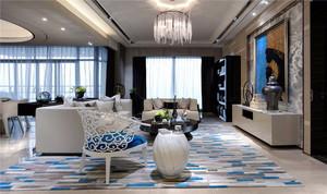 100平米现代风格室内装修效果图赏析