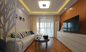 108平米现代简约风格三室两厅室内装修效果图