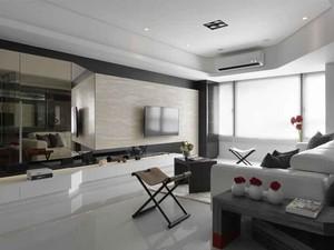 63平米现代简约风格一居室小户型装修效果图