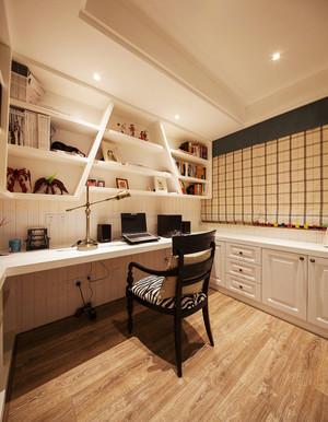 现代美式风格两室两厅一卫室内装修效果图