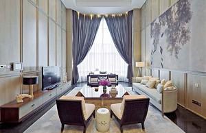 276平米精致典雅新新中式风格别墅室内装修效果图