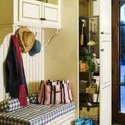 简欧风格大户型室内创意玄关鞋柜装修效果图