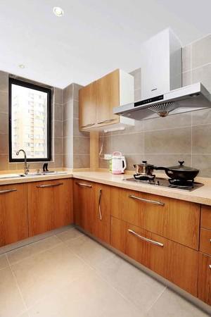 宜家简约风格大户型整体厨房装修效果图
