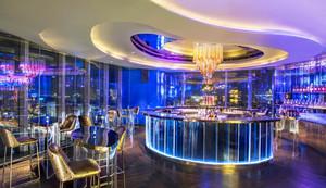 243平米现代风格酒吧装修效果图赏析