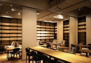 210平米后现代风格咖啡厅装修效果图鉴赏