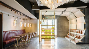 180平米现代简约风格餐厅装修效果图