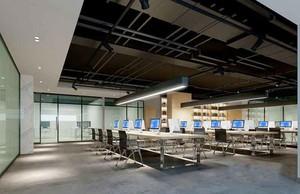 130平米现代风格办公室装修效果图赏析