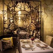 195平米古典美式风格餐厅装修效果图赏析