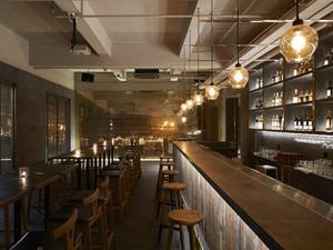 280平米现代工业风格酒吧装修效果图赏析