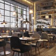 310平米后现代风格餐厅装修效果图赏析