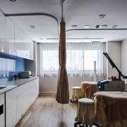 现代简约风格美容院包房设计装修效果图